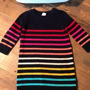 Baby Gap Rainbow tunic sweater dress.